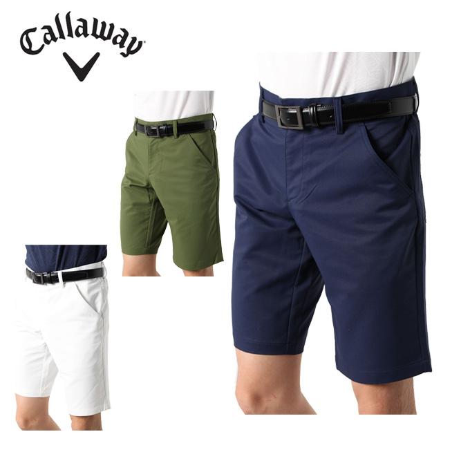 キャロウェイ ゴルフウェア ショートパンツ メンズ ストレッチカルゼ 241-9123504 Callaway