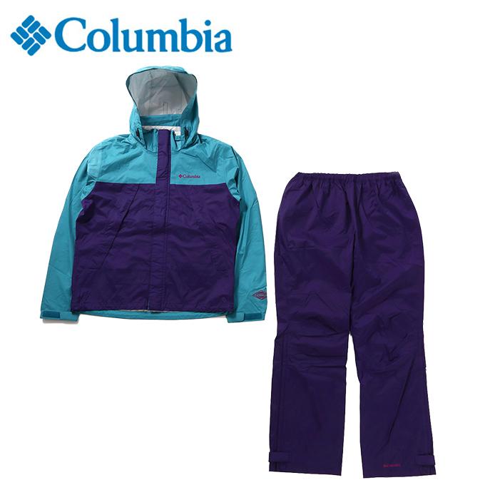 コロンビア レインウェア 上下セット メンズ シンプソンサンクチュアリ レインスーツ PM0124 324 Columbia