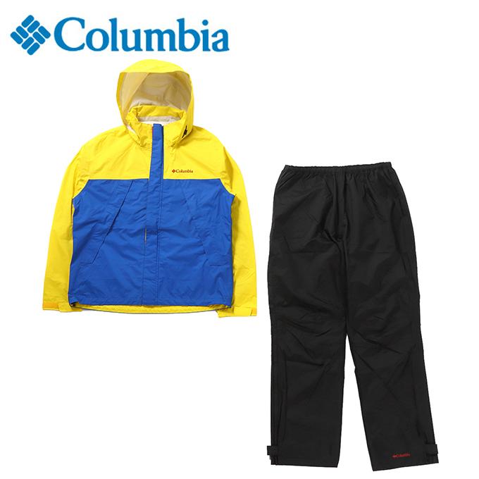 コロンビア レインウェア 上下セット メンズ シンプソンサンクチュアリ レインスーツ PM0124 752 Columbia