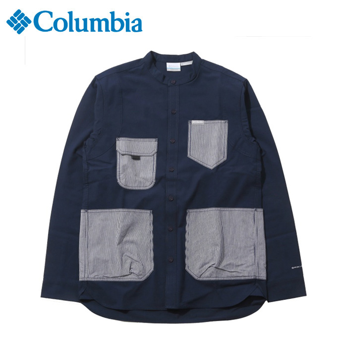 コロンビア 長袖シャツ メンズ ヒューソンパーク LS SH PM6521 467 Columbia