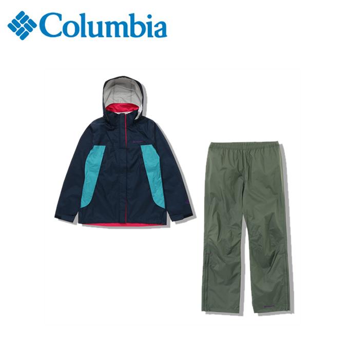 コロンビア レインウェア 上下セット レディース シンプソンサンクチュアリウィメンズレインスーツ PL0125 425 Columbia