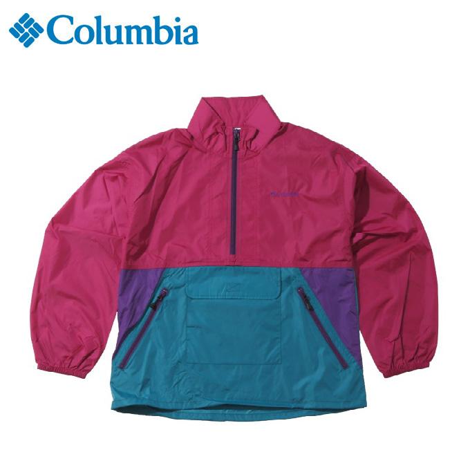 コロンビア アウトドア ジャケット レディース Fall Bluff Women's Anorak Jacket フォールブラフウィメンズアノラックジャケット PL3090 550 Columbia