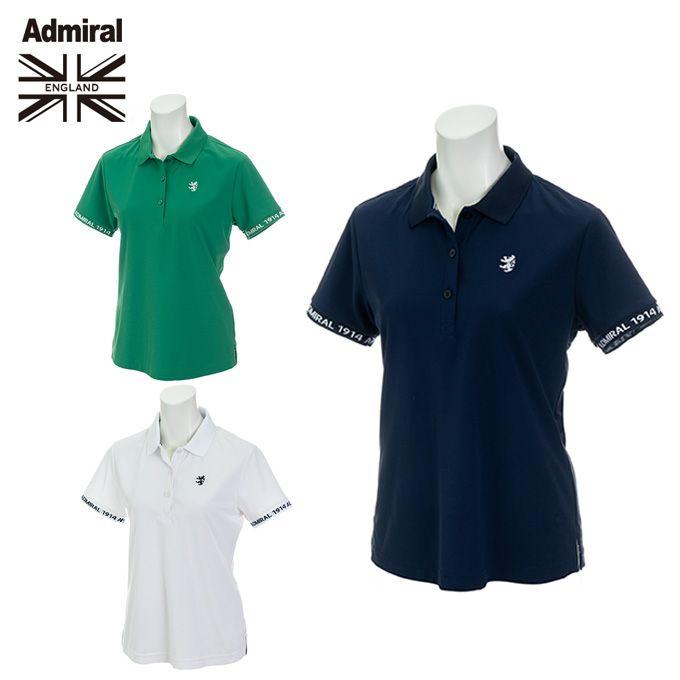アドミラル Admiral ゴルフウェア ポロシャツ 半袖 レディース ベーシック ADLA929