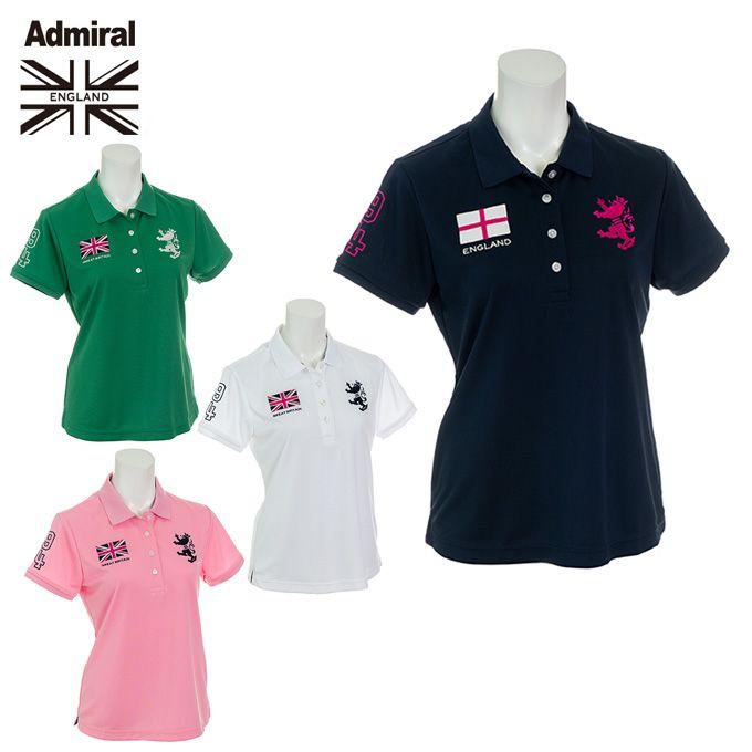アドミラル Admiral ゴルフウェア ポロシャツ 半袖 レディース フラッグ ADLA957
