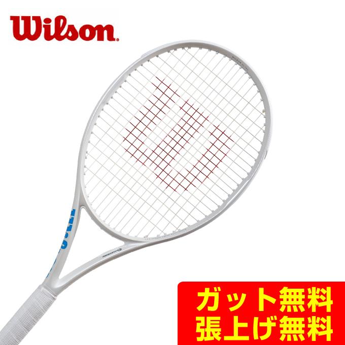 ウイルソン 硬式テニスラケット ウルトラ100CV ULTRA 100 CV White in White WR011011 Wilson メンズ レディース