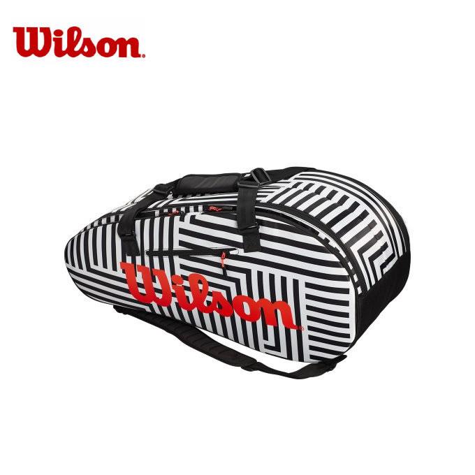 ウイルソン Wilson テニス バドミントン ラケットバッグ 9本用 メンズ レディース スーパーツアー2コンプ ラージ ボールド エディション WR8001501