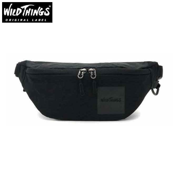 ワイルドシングス WILDTHINGS ポーチ ウエストバッグ メンズ レディース WT-380-0135 BK