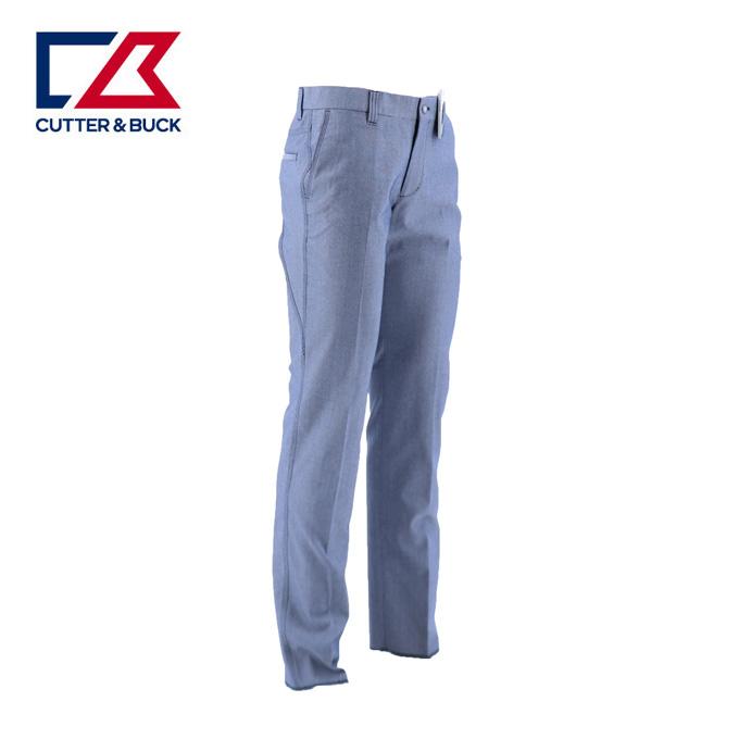 カッター&バック CUTTER&BUCK ゴルフウェア ロングパンツ メンズ シャンブレーオックスパンツ CGMNJD01