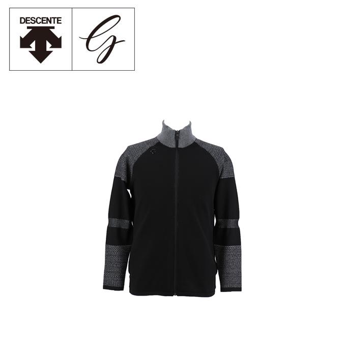 デサントゴルフ DESCENTE GOLF ゴルフウェア ブルゾン メンズ Mメランジニットジャケット DGMNJK00