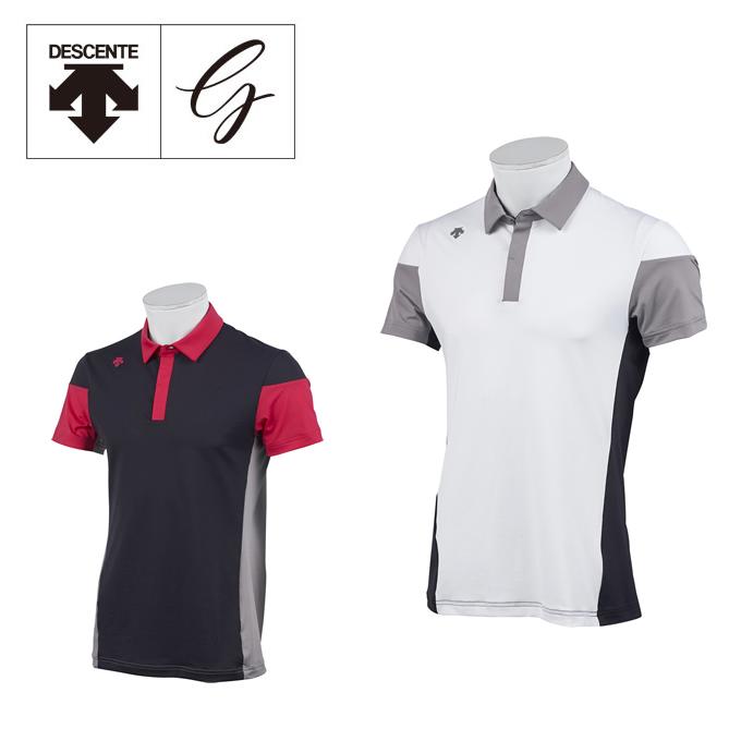 デサントゴルフ DESCENTE GOLF ゴルフウェア ポロシャツ 半袖 メンズ Mドライストレッチ半袖ポロ DGMNJA01