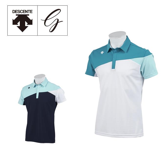 デサントゴルフ DESCENTE GOLF ゴルフウェア ポロシャツ 半袖 メンズ Mクーリストドライ半袖ポロ DGMNJA31