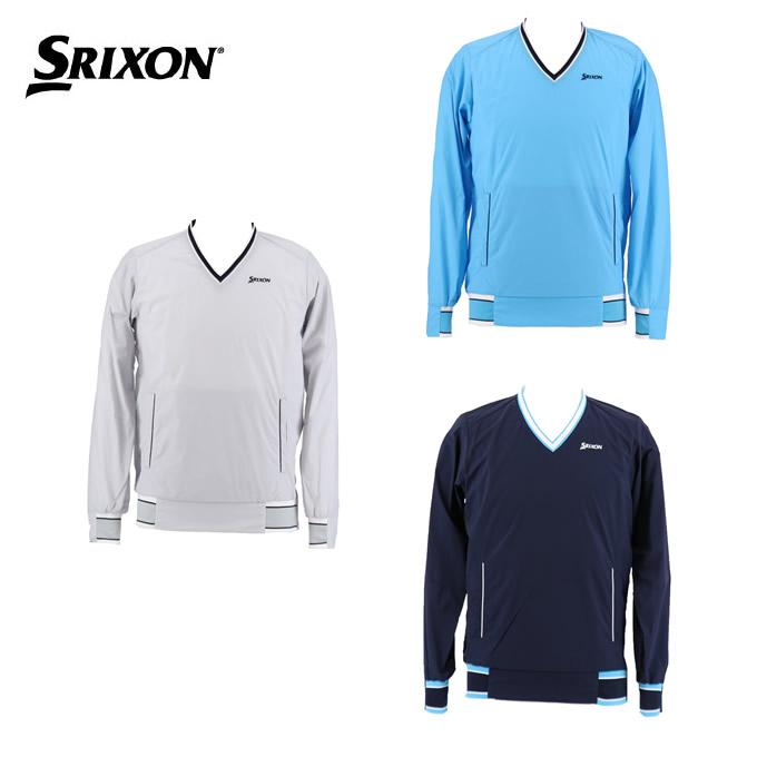 スリクソン SRIXON ゴルフウェア スウェット メンズ ナイロンウィンドプルオーバー RGMNJK03