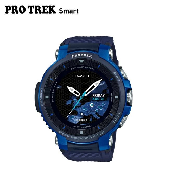 プロトレック PRO TREK ランニング 腕時計 メンズ レディース PRO TREK Smart プロトレックスマート WSD F30 BU