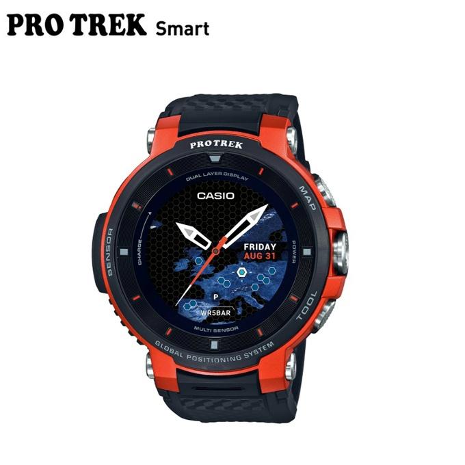 【5/5はクーポンで1000円引&エントリーかつカード利用で5倍】 プロトレック PRO TREK ランニング 腕時計 メンズ レディース PRO TREK Smart プロトレックスマート WSD F30 RG