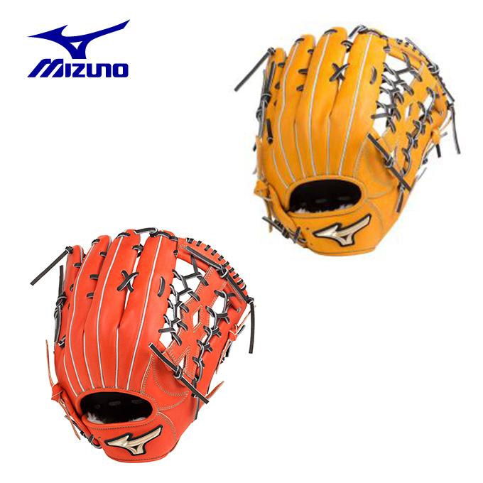 ミズノ 野球 一般軟式グラブ 外野手用 メンズ レディース グローバルエリート Hselection01 Hセレクション 1AJGR20307 MIZUNO
