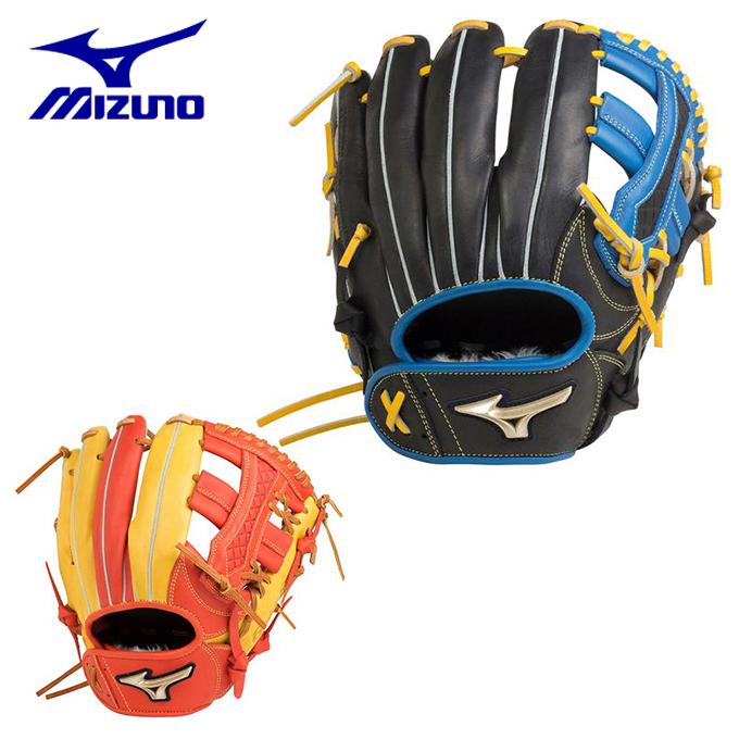 ミズノ 野球 一般軟式グラブ オールラウンド用 メンズ レディース 軟式用 グローバルエリート UMiX U4 内野×外野 サイズ10 1AJGR20650 MIZUNO