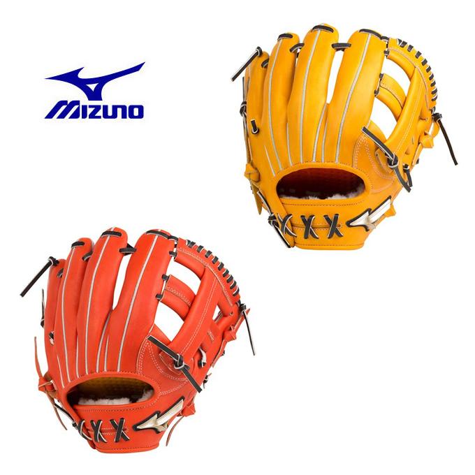 ミズノ 野球 硬式グラブ 内野手用 メンズ レディース 硬式用 グローバルエリート Hselection02 セレクション 内野手用 サイズ9 1AJGH20413 MIZUNO