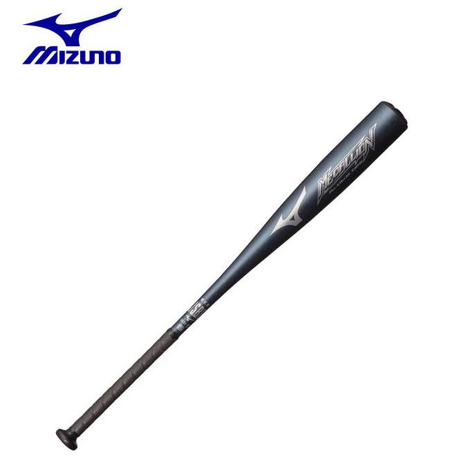 ミズノ 野球 一般軟式バット メンズ レディース 軟式用メダリオン 金属製 84cm 平均700g 1CJMR13984 09 MIZUNO