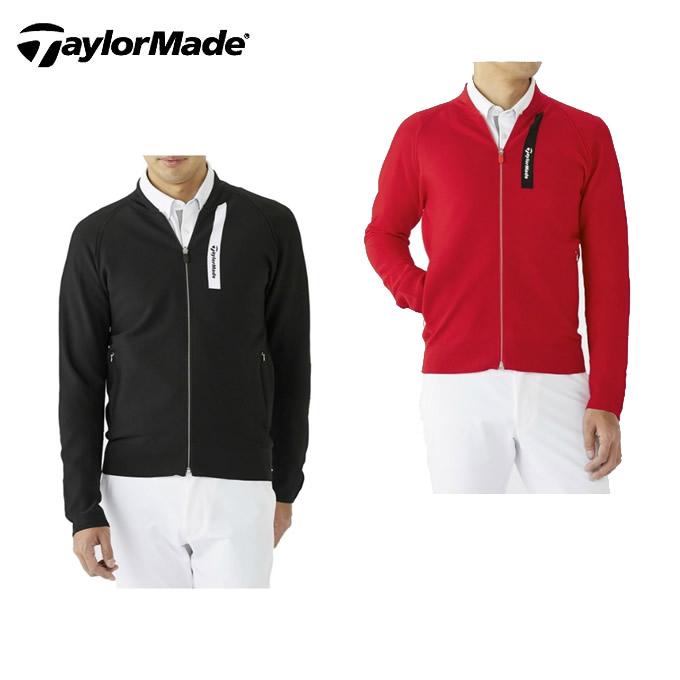 テーラーメイド TaylorMade ゴルフウェア スウェット メンズ ホールガーメント フルジップ セーター KY400