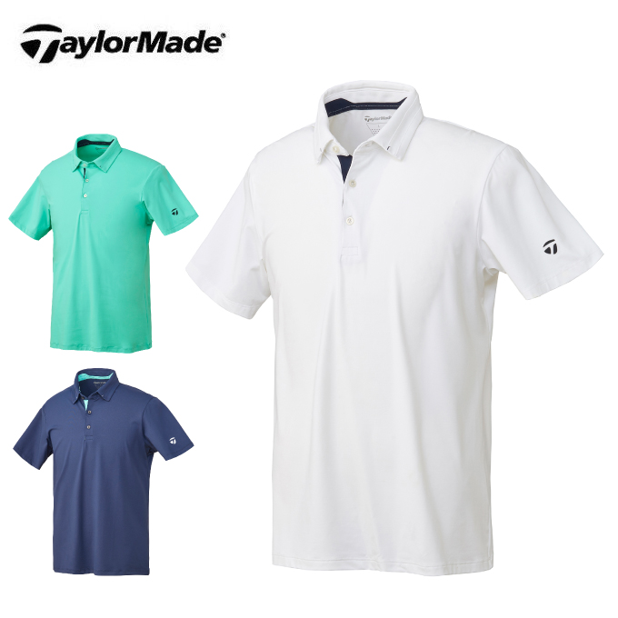 テーラーメイド TaylorMade ゴルフウェア ポロシャツ 半袖 メンズ テイラードライトウエイト半袖ポロ LOB95