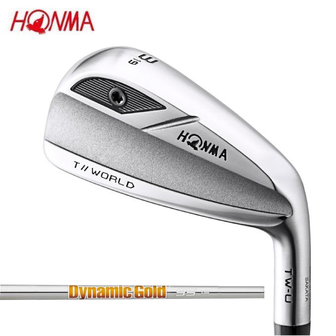 本間ゴルフ HONMA ゴルフクラブ ユーティリティ メンズ TOURWORLD TW-U シャフト Dynamic Gold 95