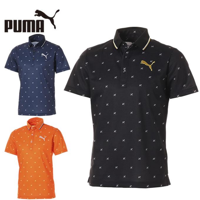 プーマ ゴルフウェア ポロシャツ 半袖 メンズ フェザーフュージョン SSポロシャツ 923830 PUMA