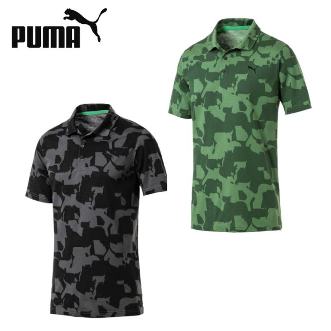 プーマ ゴルフウェア ポロシャツ 半袖 メンズ ユニオン カモポロシャツ 577911 PUMA