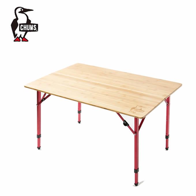 【5/5はクーポンで1000円引&エントリーかつカード利用で5倍】 チャムス アウトドアテーブル 100cm バンブーテーブル100 CH62-1361 CHUMS 2~4人用