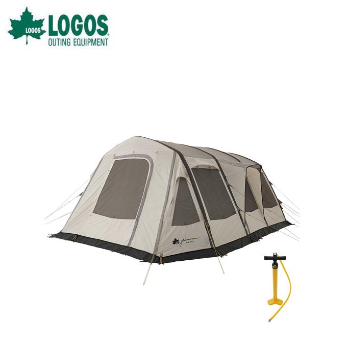 ロゴス テント 2ルームテント グランベーシック エアマジック リビングハウス WXL AI 71805532 LOGOS