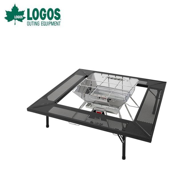 ロゴス 焚火テーブル 囲炉裏 アイアン囲炉裏テーブル 81064134 LOGOS