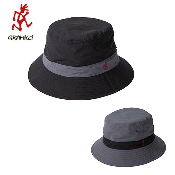 グラミチ Gramicci ハット メンズ レディース SHELL REVERSIBLE HAT シェルリバーシブルハット GAC-19S048 BK/CH