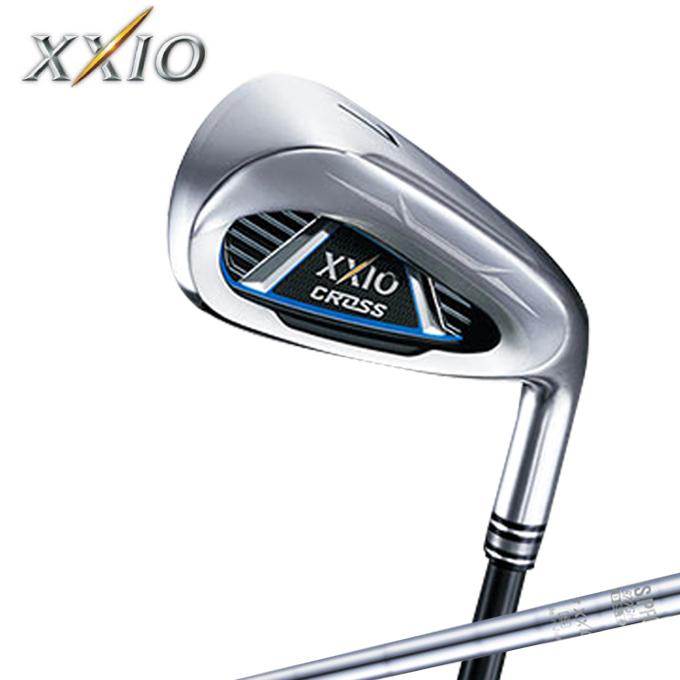 ゼクシオ XXIO ゴルフクラブ アイアンセット 4本組 メンズ ゼクシオ クロス アイアン N.S.PRO 870GH DST for XXIO スチールシャフト XXIO CROSS