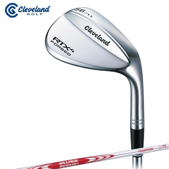 クリーブランド Cleveland ゴルフクラブ ウェッジ メンズ RTX 4 FORGED N.S.PRO MODUS3 TOUR 105 スチールシャフト