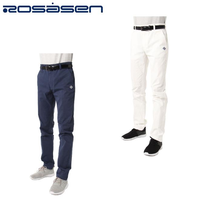 ロサーセン ROSASEN ゴルフウェア ロングパンツ メンズ テンセルストレッチパンツ 044-79310