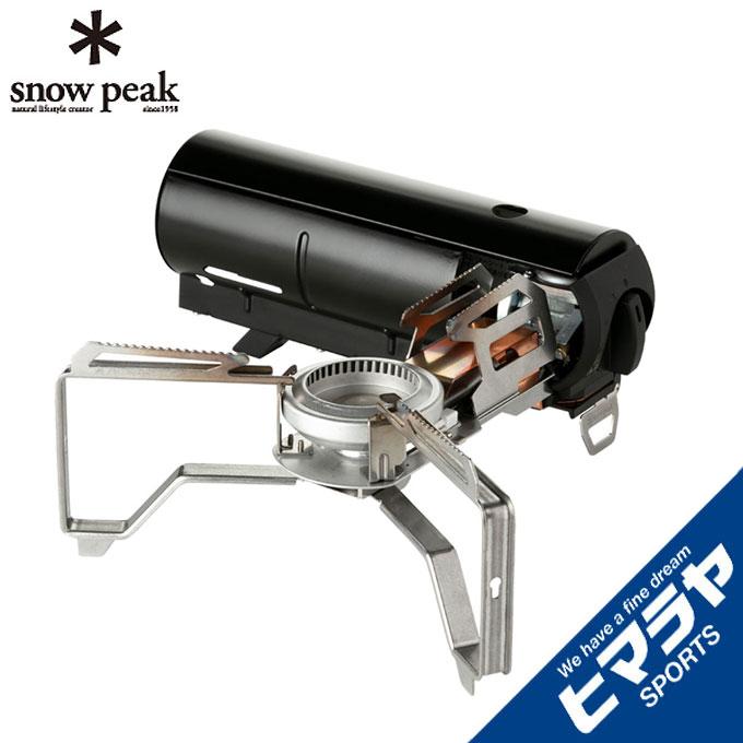 【5/5はクーポンで1000円引&エントリーかつカード利用で9倍】 スノーピーク シングルバーナー HOME&CAMP ブラック GS-600BK snow peak