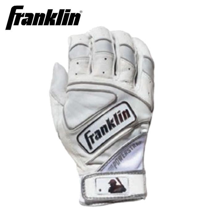 フランクリン FRANKLIN 野球 バッティンググローブ 両手用 メンズ レディース パワーストラップ クローム SERIES シリーズ 20491F