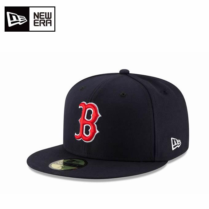 ニューエラ NEW ERA キャップ 帽子 メンズ レディース 59FIFTY フィフティー MLB メジャーリーグ ベースボール ボストン・レッドソックス ゲーム 11449389