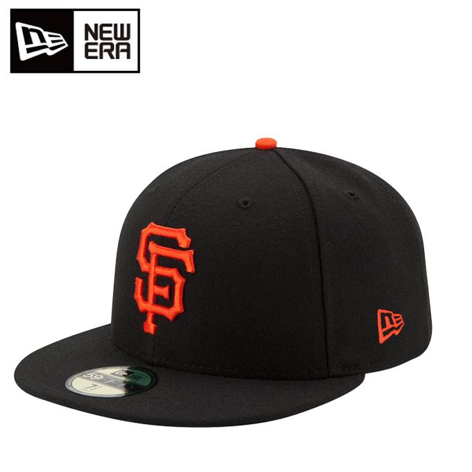 ニューエラ NEW ERA キャップ 帽子 メンズ レディース 59FIFTY MLB オンフィールド サンフランシスコ・ジャイアンツ ゲーム 11449343