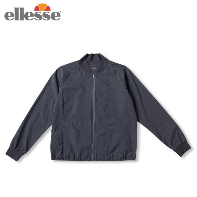 エレッセ ellesse テニスウェア ジャケット レディース ダブルクロススタジアムジャケット Double Cloth Stadium Jacket EW59102-CX