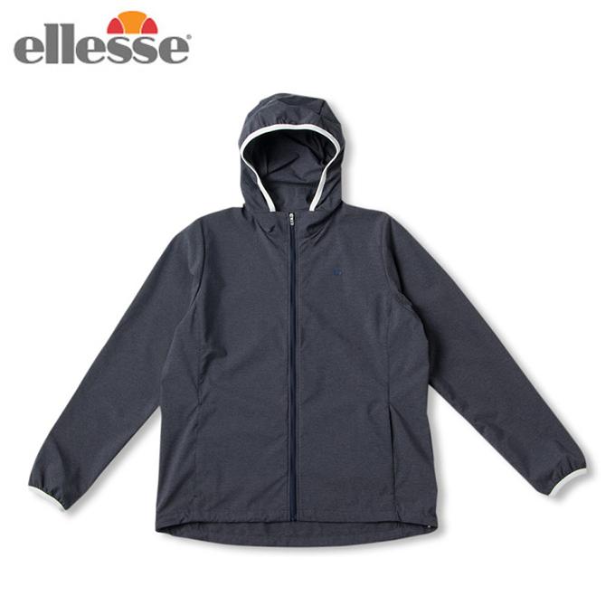 エレッセ ellesse テニスウェア ウインドブレーカー レディース ダブルクロスフーディー Double Cloth Hoodie EW59103-CX