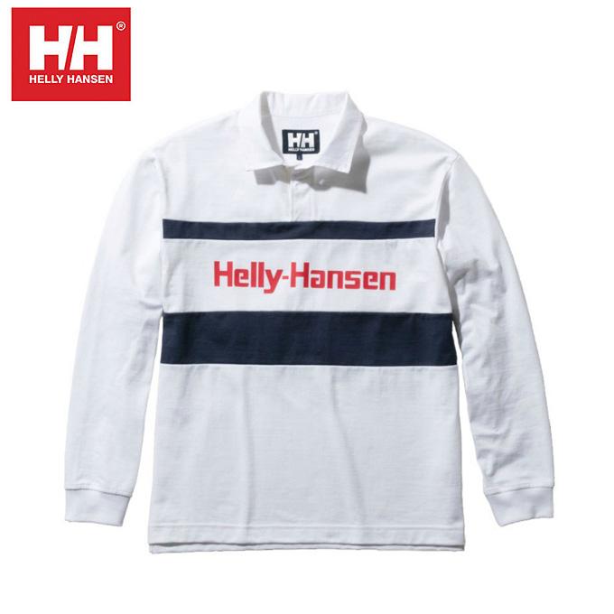 ヘリーハンセン HELLY HANSEN 長袖シャツ メンズ L/S Formula Rugby Jersey ロングスリーブフォーミュラーラグビージャージー HH31903 W