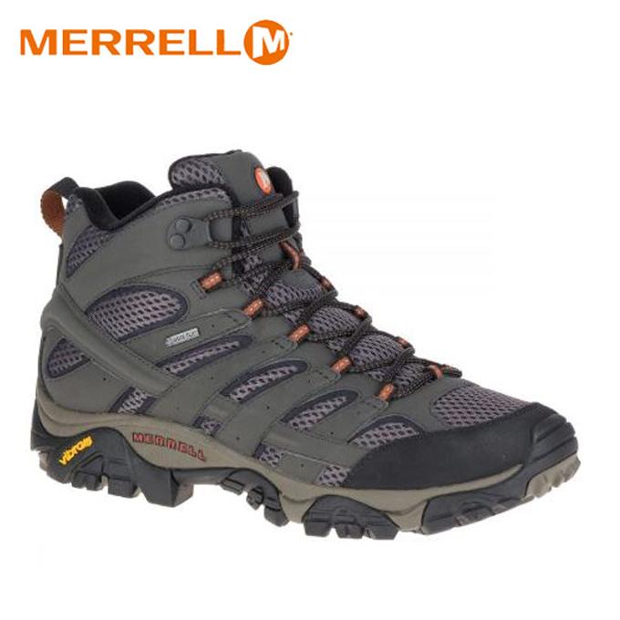 メレル MERREL トレッキングシューズ ゴアテックス ハイカット メンズ モアブ2ミッド GTX J06059