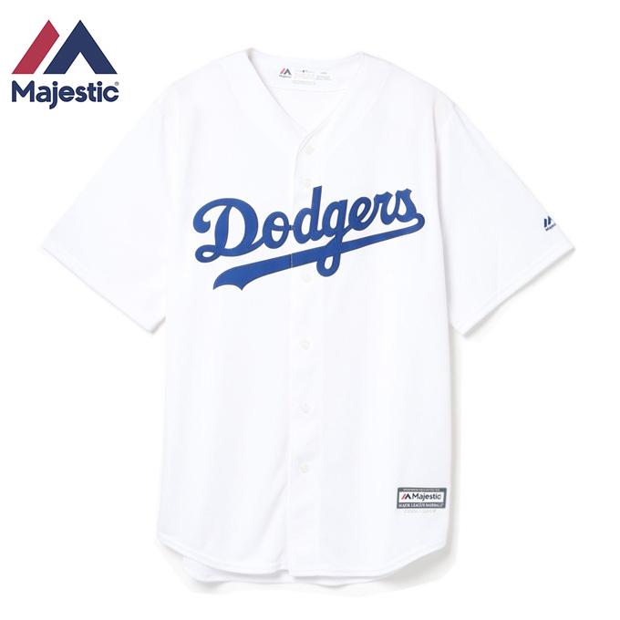 マジェスティック 野球ウェア 半袖Tシャツ メンズ レディース ロサンゼルス・ドジャース 7700-DODH-LD-RJH Majestic