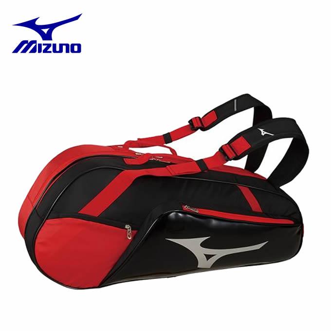 ミズノ テニス バドミントン ラケットバッグ 6本用 メンズ レディース 63JD900796 MIZUNO