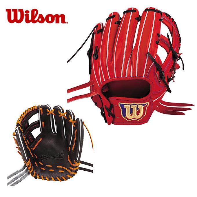【5/5はクーポンで1000円引&エントリーかつカード利用で5倍】 ウイルソン Wilson 野球 硬式グラブ 内野手用 メンズ ウィルソンスタッフDUAL内野手用D6 WTAHWFD6T