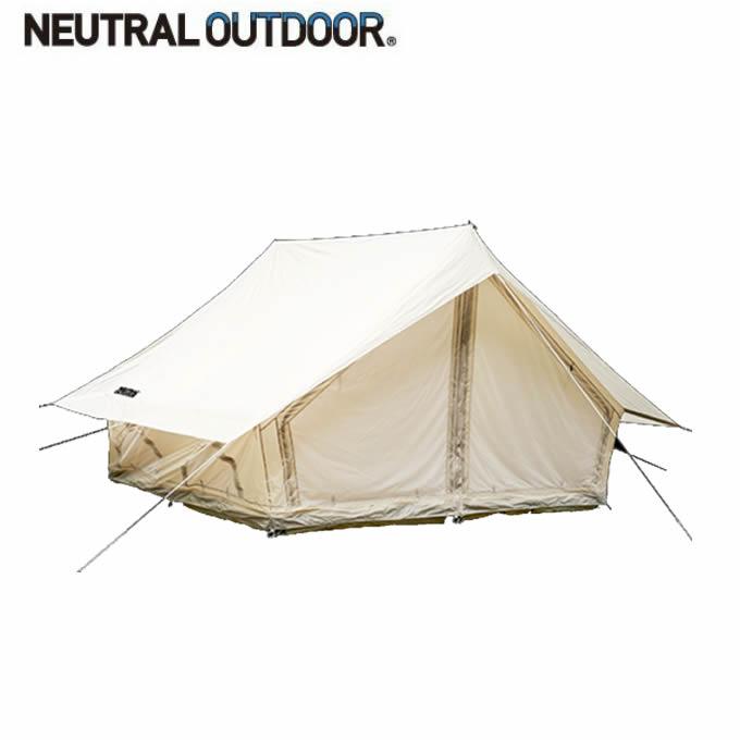 【5/5はクーポンで1000円引&エントリーかつカード利用で5倍】 ニュートラルアウトドア テント ロッジ型テント LGテント 4.0 NT-TE10 44390 NEUTRAL OUTDOOR