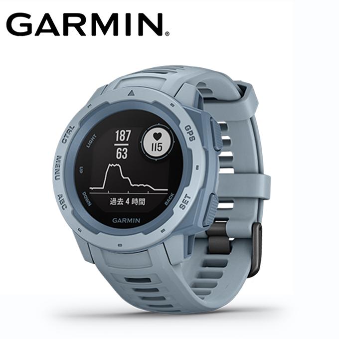 【5/5はクーポンで1000円引&エントリーかつカード利用で14倍】 ガーミン ランニング 腕時計 メンズ レディース Instinct Sea Foam インスティンクト シーフォーム 010-02064-62 GARMIN