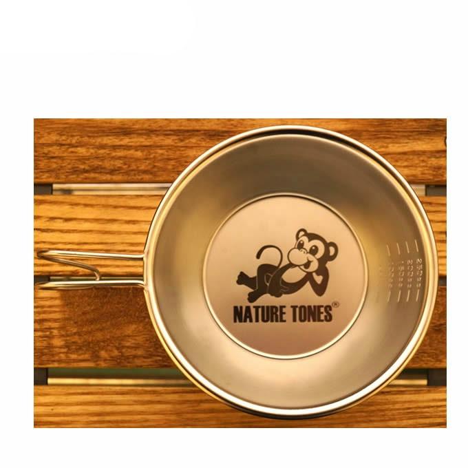 購入後レビュー記入でクーポンプレゼント中 ネイチャートーンズ 食器 シェラカップ ネイトンモンキー公式シェラカップ NMSC-GOR 出群 即納 ゴロ寝 NATURE TONES