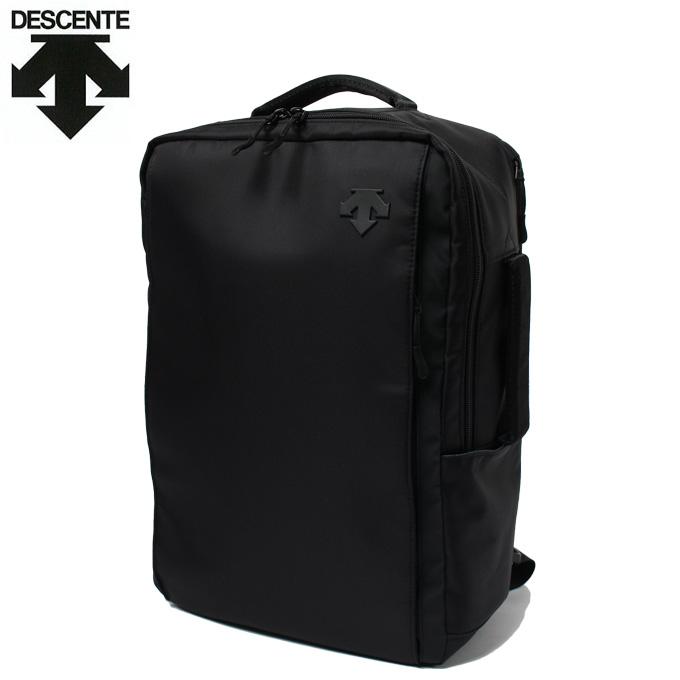 デサント DESCENTE バックパック メンズ ファンクショナルBP DMANJA70HG-BK