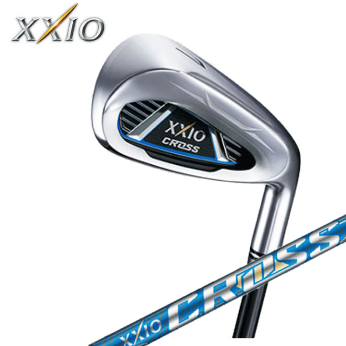 ゼクシオ XXIO ゴルフクラブ アイアンセット 4本組 メンズ クロス アイアン XXIO CROSS 4I ZELOS7